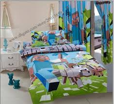 100 cotton minecraft duvet cover 3d