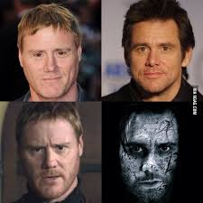 Steven Waddington (Halo Nightfall) looks like Jim Carrey on steroids - 9GAG