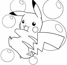Pikachu Coloring Pages Kleurplaten Patronen Pokemon