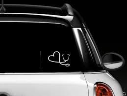 International Nurses Day 2019 Gift Ideas For Nurses Medical Days Nurse Car Decal Window Decals Car Stickers