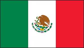 Mexican Flag Hard Hat Helmet Decals Lhtl375