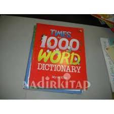 TIMES 1000 WORD DICTIONARY - MYRA ELLIS | Nadir Kitap