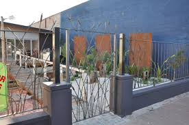 Adelaide Wrought Iron Bullrush Fence And Gate Farmweld