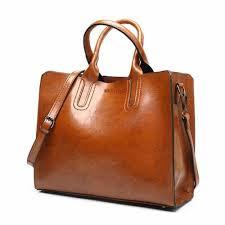 brown women shoulder bag fashion casual