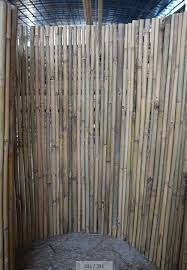 China Bamboo Fence Garden Fencing Panel With Natural Black Mahogany Brown Colors China Bamboo Fence And Bamboo Hedge Price