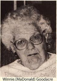 Winnie McDonald Goodacre (1904-1998) - Find A Grave Memorial