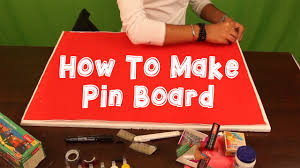 How To Make Pin Board Youtube