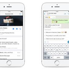 WhatsApp Business app for iOS begins worldwide rollout - The Verge