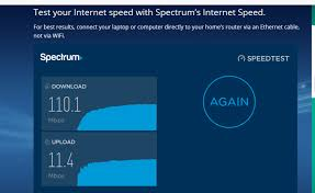 test your internet speed spectrum ...