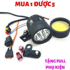 Đèn Trợ Sáng L4x mẫu mới tặng Full phụ kiện- Đèn Trợ Sáng xe máy siêu sáng  L4x - Đèn led trợ sáng siêu sáng L4x, đèn xe máy giá tốt