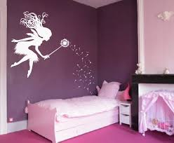 Fairy Dandelion Wand Wall Decal Nursery Kids Girls Room Tale Sticker Baby Bedroom Wall Art Poster Large Decor Vinyl Murals A175 Decorative Vinyl Baby Bedroomwall Decals Aliexpress