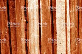 Wooden Fence Pattern In Orange Color Stock Photo Download Image Now Istock