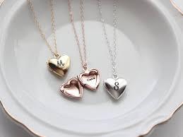 heart locket personalized heart