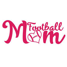 Football Mom Decal Sticker 7 Inches By 2 7 Inches Hot Pink Vinyl Walmart Com Walmart Com