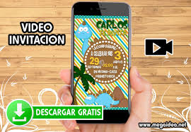 Video Invitacion Cumpleanos Dinosaurios Gratis Mega Idea