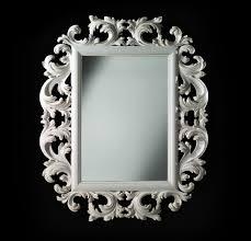 openwork frame white wooden frame