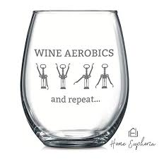 funny wine glass stemless wine goblet