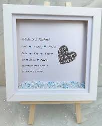 bespoke personalised gift father dad