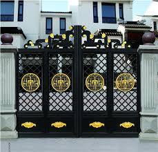Home Aluminium Gate Design Steel Sliding Gate Aluminum Fence Gate Designs Hc Ag17 Doors Aliexpress