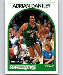Amazon.com: 1989-90 Hoops Basketball #125 Adrian Dantley Dallas Mavericks  Official NBA Trading Card: Collectibles & Fine Art