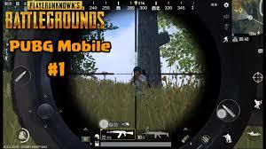 PUBG Mobile Beta Gameplay