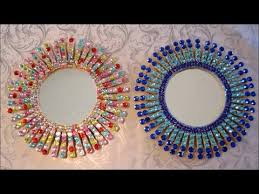 Diy Starburst Mirror Room Decor Gift Ideas Easy Crafts For Kids Youtube