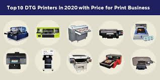 top 10 dtg printers with pricing for