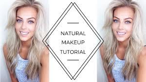 natural makeup tutorial chloe boucher