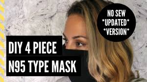 DIY No Sew N95 Type Mask **UPDATED ...