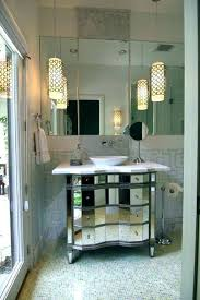 hanging pendant lights bathroom