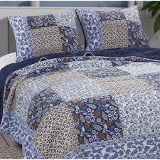 Greenland Home Fashions Pandora 3-Piece King Quilt Set-GL-1901EMSK - The  Home Depot