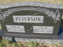 Iva M. Deneen Peterson (1916-1994) - Find A Grave Memorial