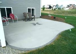 concrete patio pictures stamped cement