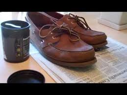 polish sperry topsiders leather shoes