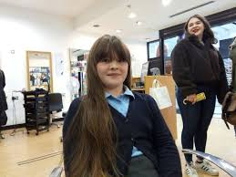 Generous Ava donates her long tresses to cancer charity | Banbury Guardian