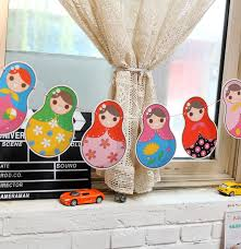 Matryoshka Paper Banner Russian Doll Bunting Garland Baby Shower Party Birthday Decoration Children S Day Kids Room Decoration A125