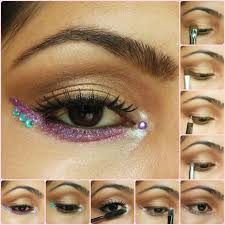 eye makeup tutorial soft brown and