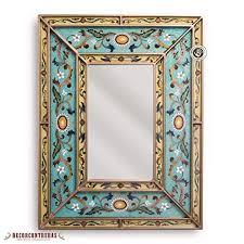 com peruvian decorative mirror