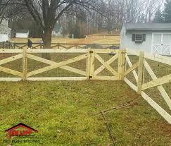 Wood Vinyl Fencing Tam Lapp Construction Llc