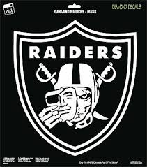 Oakland Raiders Logo Skull Man Nfl Football Team Vinyl Decal Car Sticker New Ebay