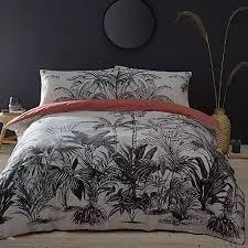 palm tree tropical bedding