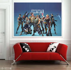 Fortnite Poster On Photo Paper Battle Royale Game Wall Decals Decor Art Print Xl Ebay