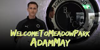 ADAM MAY JOINS WOOD ON LOAN FROM POMPEY | Boreham Wood Football Club