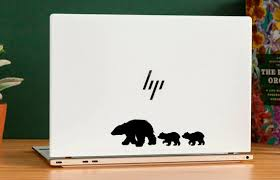 Laptop Vinyl Decal Sticker Wild Animals Nature Bears Bear Cub Etsy