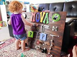 How To Make A Toddler Busy Board That Really Entertains