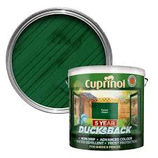Cuprinol 9l 5 Year Ducksback Forest Green Leekes