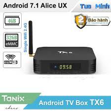 Android TV Box TX6 - Alice UX, Ram 4GB, Bộ nhớ trong 32GB, Single ...