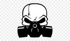 W Car Decal Roblox Skull With Gas Mask Vector Free Transparent Png Clipart Images Download