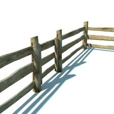 Fence Wooden Collection 3d Model 59 Free3d