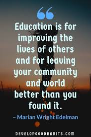 informative education quotes to inspire both students and their